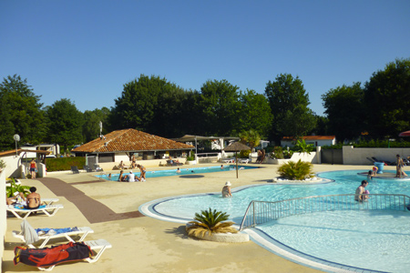camping biscarrosse lac