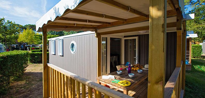 location mobil home biscarrosse